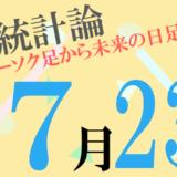 7月23日の為替アノマリーはドル/フランの陽線確率が67%・スイスフラン/円の陰線確率が67%となっています!【日足統計論】