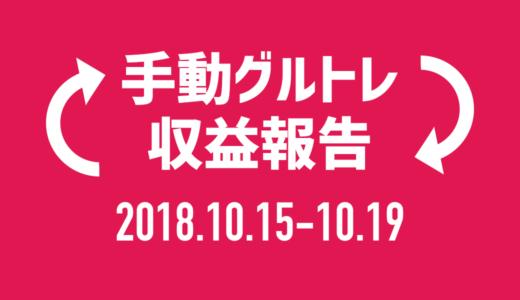 【グルトレ手動】2018年10月3週目は12チャリンで6,000円!